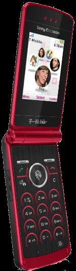 Sony Ericsson Z780 Red