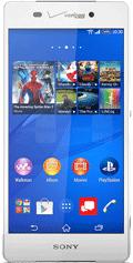Sony Xperia Z3v White