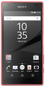 Sony Xperia Z5 Compact Red