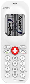SpareOne Emergency Phone White