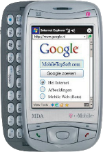 T-Mobile MDA Silver