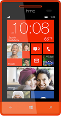 Windows Phone 8S Red