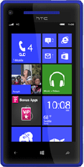 Windows Phone 8X Blue