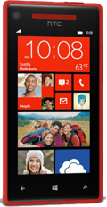 Windows Phone 8X Red