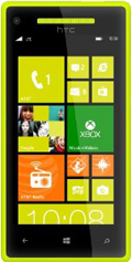 Windows Phone 8X Yellow