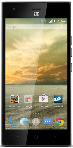 ZTE Warp Elite Black