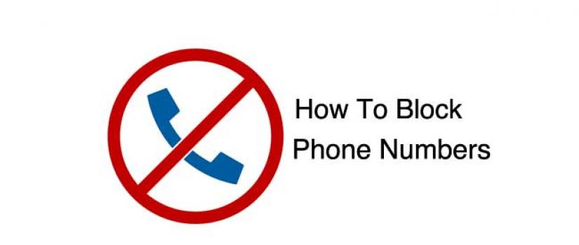 Blocking a number on cell phone - how to block my cell phone from telemarketers