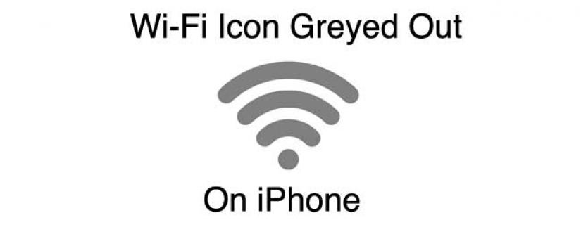 Iphone 7 plus wifi greyed out fix