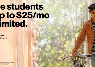 Verizon offering discount for students