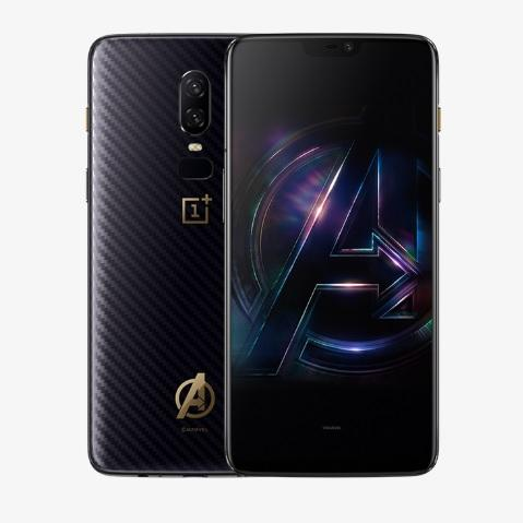 Here comes the Avengers edition of the OnePlus 6