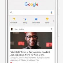 Introducing The feed: A New Google Feature That Combines News With The User's Personal Interests