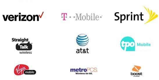Top Cell Phone Providers