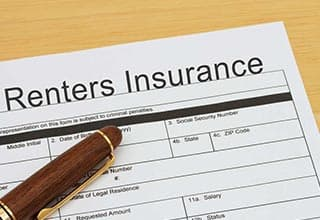 renters agreement and insurance form